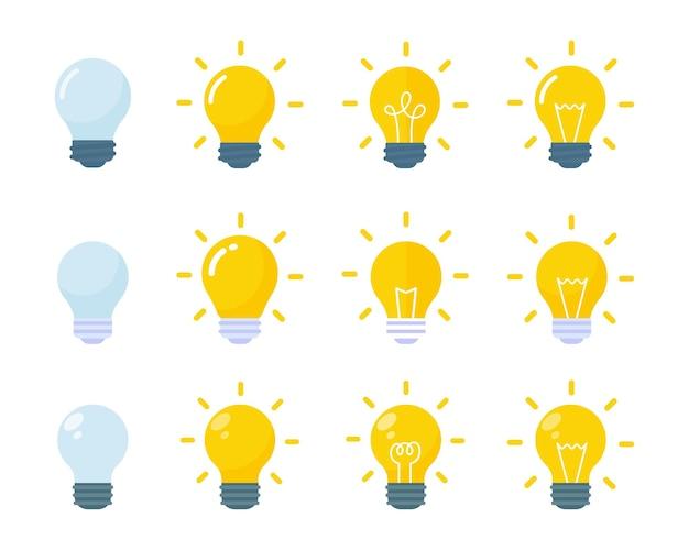 Idées d'ampoules et créativité