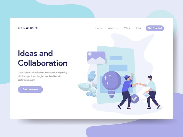 Idées et collaboration illustration