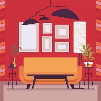 Idées d'intérieur de salon pour l'inspiration