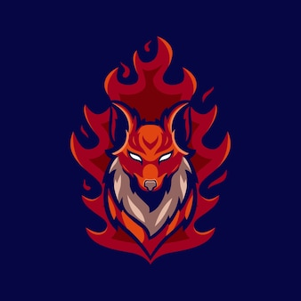 Idées de logo fire fox