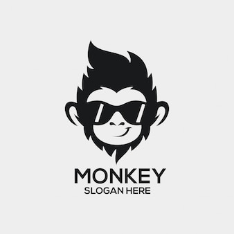 Idées de logo de singe