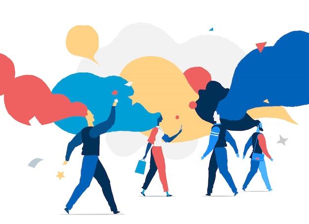 Idées virales. idées, pensées, processus mentaux des gens