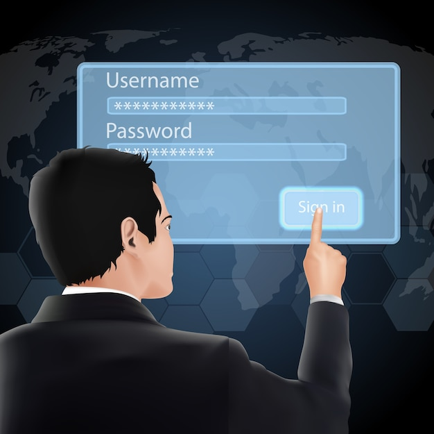Identifiant et mot de passe de l'utilisateur