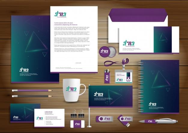 Identité d'entreprise business design