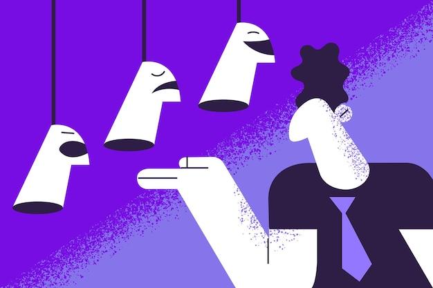 Identité de soi, concept de l'humeur du jour