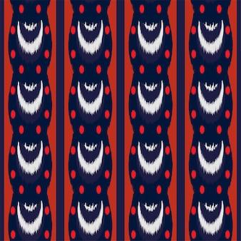 Ikat seamless pattern design pour le tissu.