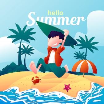 Il est temps de s'amuser en été