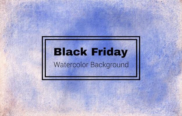 Il s'agit d'une conception de texture de fond aquarelle abstraite vendredi noir