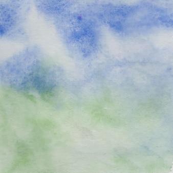 Il s'agit d'un fond de pinceau d'ombrage aquarelle abstraite