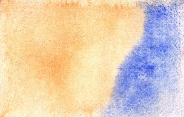 Il s'agit d'une texture de fond aquarelle abstraite peinte à la main