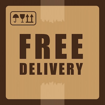 Illuistration livraison gratuite