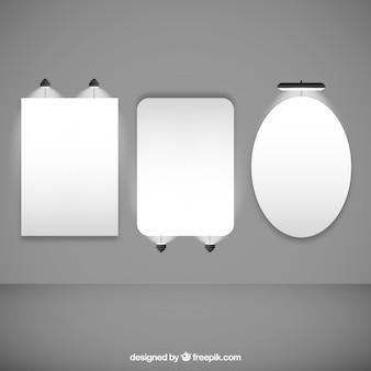 Illumination collecte de panneaux d'affichage