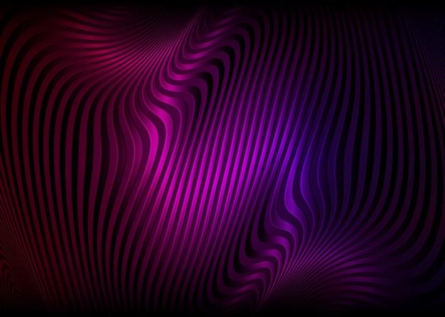 Illusion d'optique colorée, abstrait. concept de design en spirale tordue.