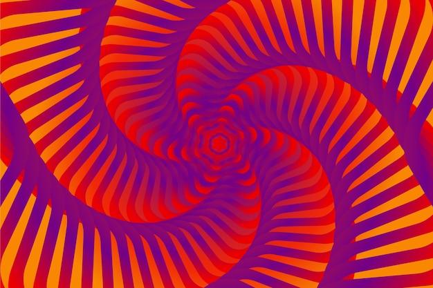 Illusion d'optique psychédélique