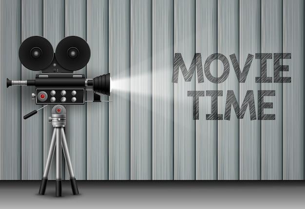 Illusion de temps de film