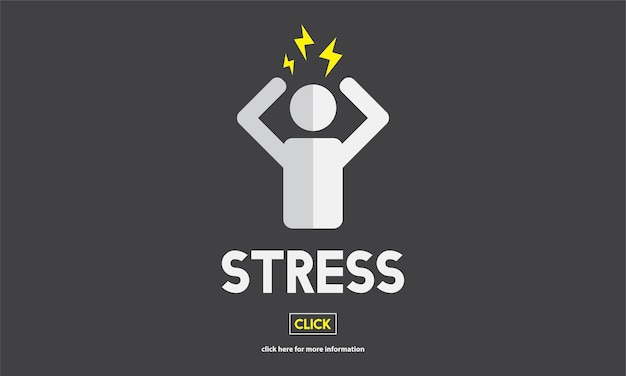Illustation de l'émotion de stress