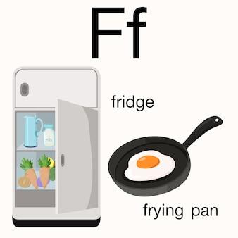 Illustrateur de vocabulaire F