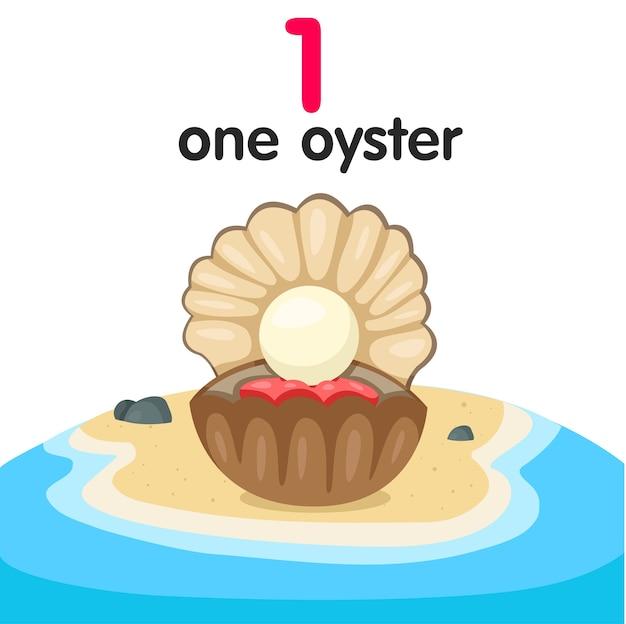 Illustrateur de l'huître numéro un