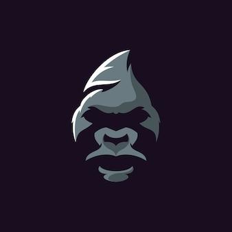Illustrateur de logo de gorille
