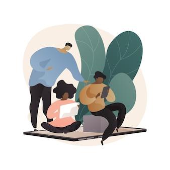 Illustration Abstraite De Basse Technologie Parentale. Vecteur gratuit