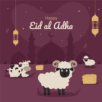 Illustration de l'aïd al-adha