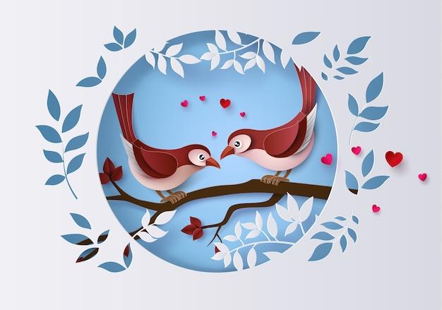 Illustration de l'amour et de la saint valentin,