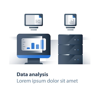 Illustration d'analyse de données volumineuses