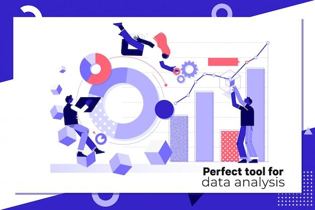 Illustration de l'analyse de données