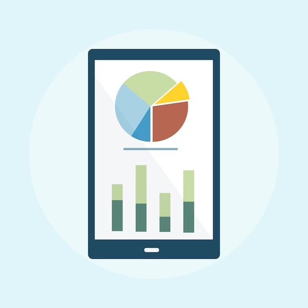Illustration de l'analyse graphique d'entreprise