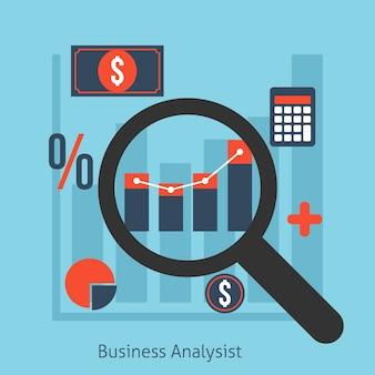 Illustration de l'analyste d'affaires
