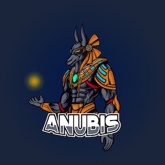 Illustration d'anubis