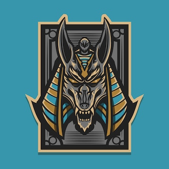 Illustration d'anubis
