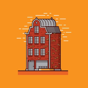 Illustration de l'appartement plat