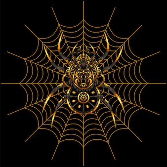 Illustration d'araignée