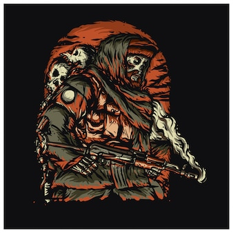 Illustration de l'armée du crâne rebelle