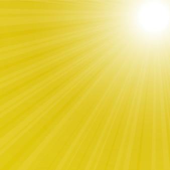 Illustration arrière de sunburst