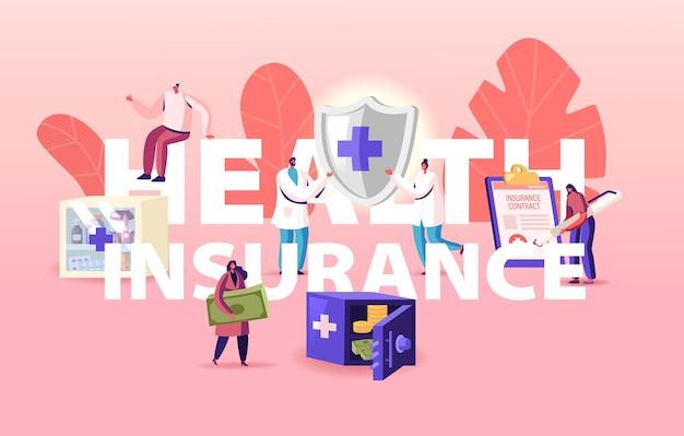 Illustration de l'assurance maladie