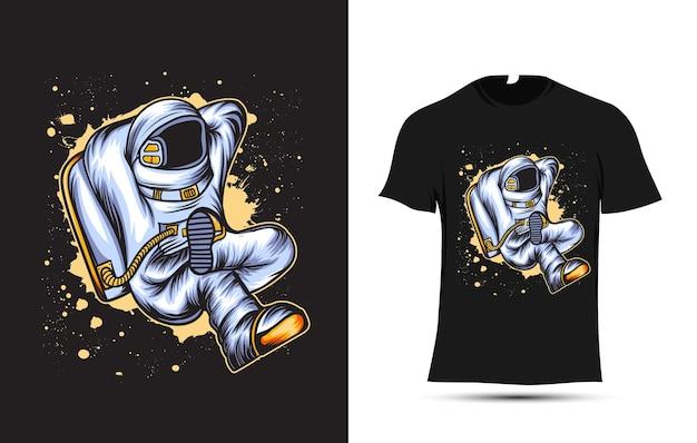Illustration d'astronaute