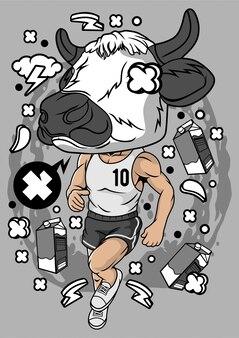 Illustration de l'athlète