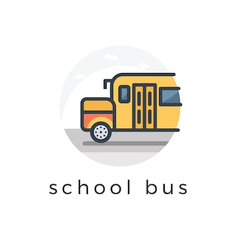 Illustration de l'autobus scolaire