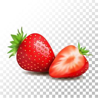 Illustration aux fraises