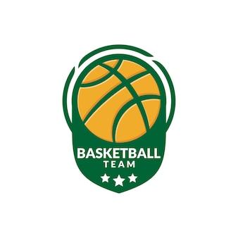 Illustration d'un ballon de basket. bon pour le logo de l'équipe de basket-ball ou toute entreprise liée au sport.