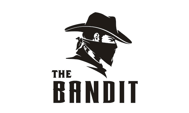 Illustration de bandit cowboy