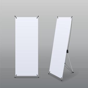 Illustration de bannières de stand x