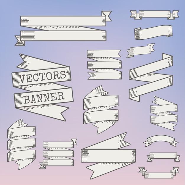 Illustration de bannières