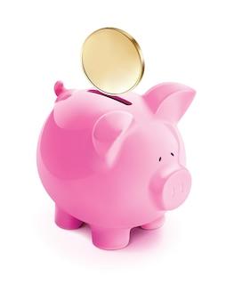 Illustration de la banque de porcs