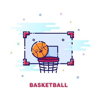 Illustration de basket