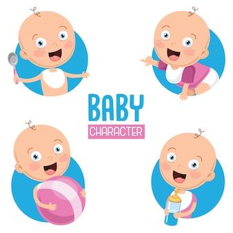 Illustration de bébé