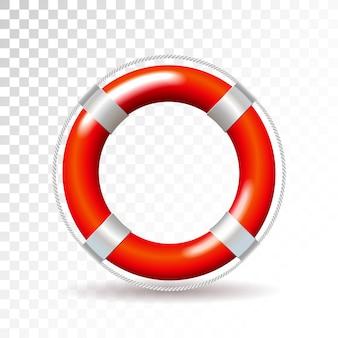Illustration de bouée de sauvetage vector isolée