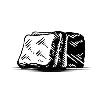Illustration de la boulangerie de pain